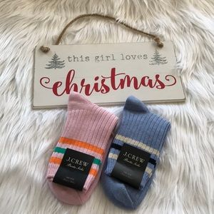 🎁 J.Crew Ankle Boot Socks (BUNDLE)
